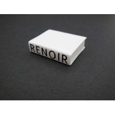 Renoir Art Book with White Cover