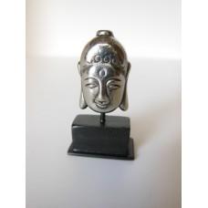 Medium Buddha Head on Black Base