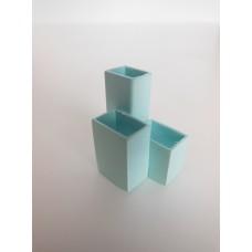 Blue Trio Vases
