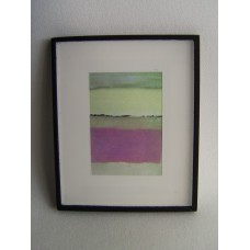 Picture Frame with Digital Art - Abstract Pink