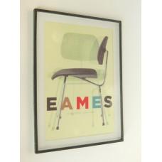 Eames Chair Print (Medium) Black Frame