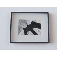 Bridge Print Black Frame
