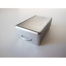 Rectangle Storage Box with Handle - Vintage Metal Finish