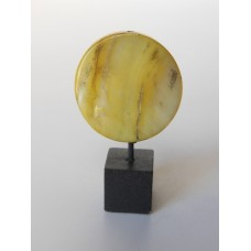 Round Stone Circle in Pale Yellow