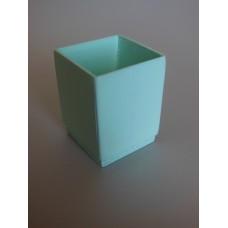 Light Blue Trash Can