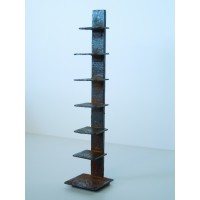 Tower Bookcase in Rust