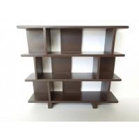 Vendi 3 Tier Bookcase in Espresso
