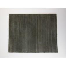 Charcoal Linear Area Rug