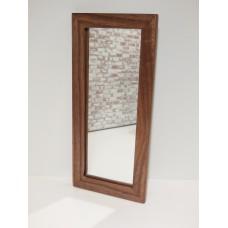 Walnut Framed Floor Mirror