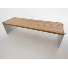 Omni Wide Bench in Ipe