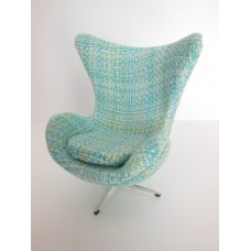Egg Chair in Spring Weave Fabric