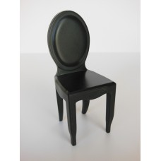 Ghost Dining Chair in Black Matte