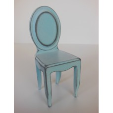 Ghost Dining Chair in Distressed Blue
