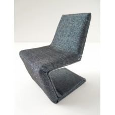 Klein Chair in Dark Blue Chambray