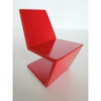 Klein Chair in Red Lacquer