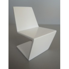 Klein Chair in White Lacquer