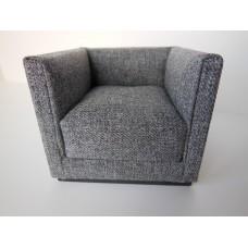 Metro Petite Chair in Gray