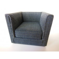 Metro Petite Chair in Navy