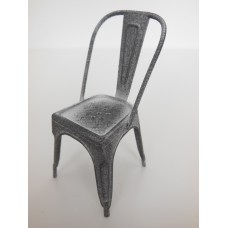 Tolix Chair in Vintage Silver