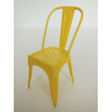 Tolix Chair in Yellow