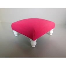 Ottoman in Hot Pink