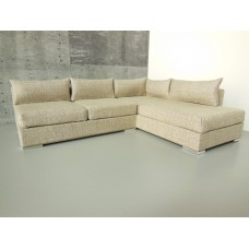 Hayes 4-Cushion Sectional in Beige