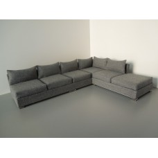 Hayes 6-Cushion Sectional in Gray