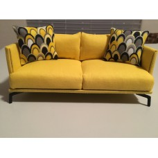 Lusso Couch in Yellow