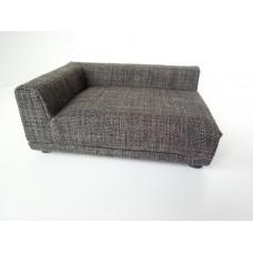 Uno Sofa in Grey Tweed