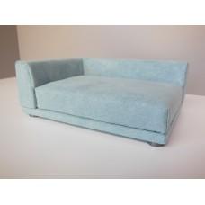 Uno Sofa in Seafoam Microsuede