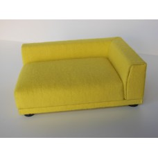 Uno Sofa in Canary Yellow - Right Arm