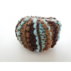 Knitted Pouf - Multi Color