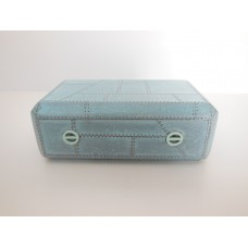 Aviator Coffee Table in Distressed Blue