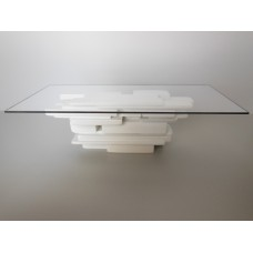 STAX Dining Table in White