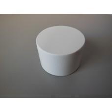 Barrel Side Table in White