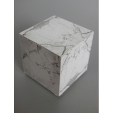 Marble Square Cube Table