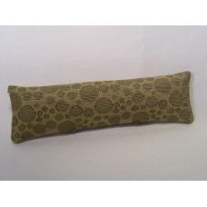 Gold Circle Long Oblong Pillow