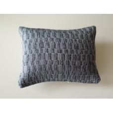 Shimmer Blue Large Rectangle Pillow