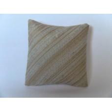 Cafe Stripe Large Square Pillow