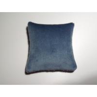 Blue Velvet Large Square Pillow