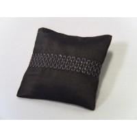 Smoke Embroidered Medium Rectangle Pillow