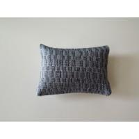 Shimmer Blue Medium Rectangle Pillow