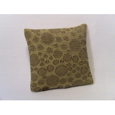 Gold Circle Medium Square Pillow