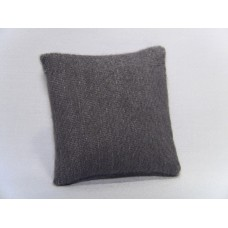 Flannel Gray Medium Square Pillow