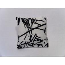 Graffiti Medium Square Pillow