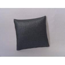 Metallic Blue Medium Square Pillow