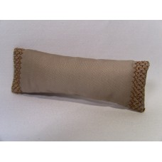 Sand Embroidered Short Oblong Pillow