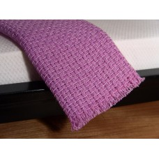 Lilac Weave Throw