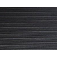 Black Ribbed Stripe Duvet