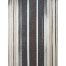 Gray / White / Red Striped Duvet